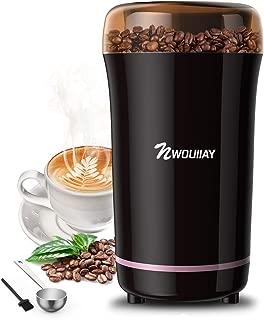 NWOUIIAY Molinillo de Café Eléctrico 300W Molinillos de