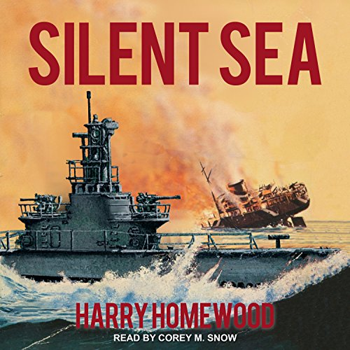 Silent Sea audiobook cover art