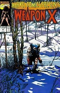 Marvel Comics Presents #77 : Wolverine as Weapon X, Shanna, Sgt. Fury, Dracula, & Namor the Sub-Mariner (Marvel Comics)