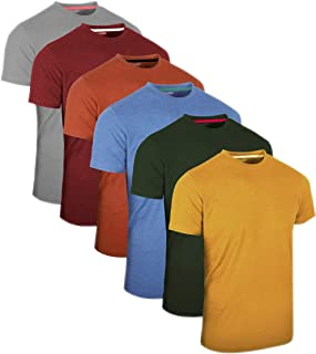 comprar comparacion FULL TIME SPORTS® 3 4 6 Paquete Assorted Langarm-, Kurzarm Casual Top Multi Pack Rundhals Camisetas