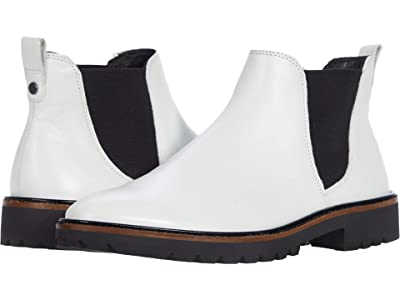 ECCO Incise Tailored Chelsea Boot (Bright White) Women