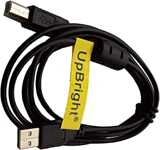UpBright NEW USB Cable PC Data Sync Cord Replacement For Plustek OpticBook 3800 4800 4600 3600 Book Flatbed Scanner, OpticFilm 7200 7200i 8100 7600 7600i SE 8200 8200i Ai SE Photo Slide & Film Scanner