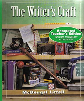 Hardcover The Writer's Craft : Annotated Teacher's Edition Book