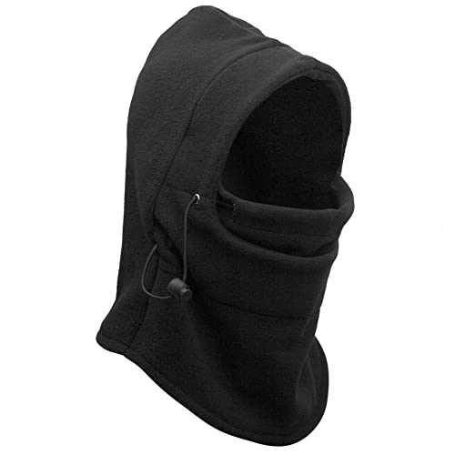 24320aed74f allnice Men s Roswheel 6 in 1 Multifunctional Windproof Thermal Double  Layers Thick Fleece Full Face Mask