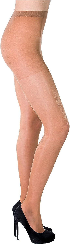 Sheer pantyhose 20 den lycra women no pattern Aurellie multipacks