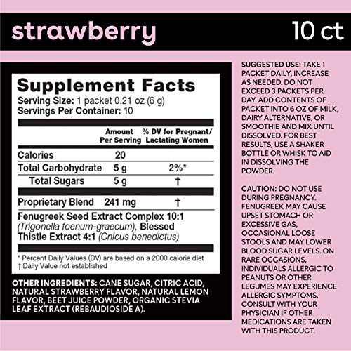 Bamboobies Lactation Support Drink Mix