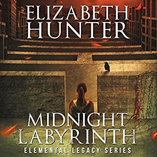 Midnight Labyrinth: An Elemental Legacy Novel audiobook cover art