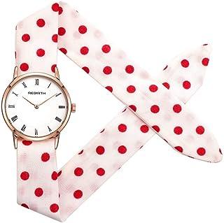 9c5187b89fac Amazon.es: tela rosa - Relojes de pulsera / Mujer: Relojes