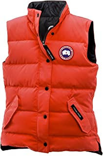 Freestyle Down Vest - Women's Monarch Orange, XS
