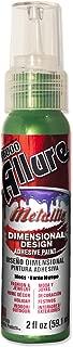 E6000 57080247 747C Allure Metallic Dimensional Adhesive Paint, Moss, 2 fl. oz.