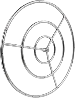 Skyflame 36-Inch Round Fire Pit Burner Ring, 304 Stainless Steel