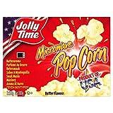 Jollytime Microondas Mantequilla 300 g de palomitas de maíz