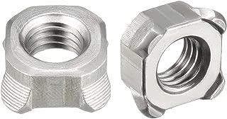 Weld Nut 5//16-18 ST Plain Tab Base PK50