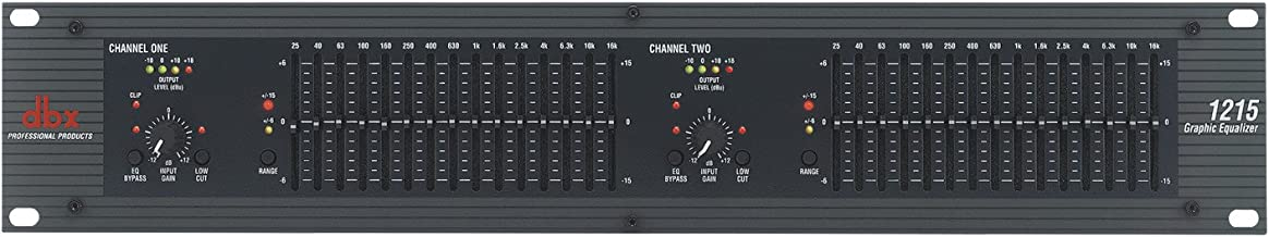 dbx 1215 Dual Channel 15-Band Equalizer (1215)