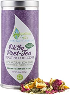 ~Oh So Pret-Tea~ A Beautifully Delicious Caffeine Free Herbal Tea to Delight You through The DayUp To 60 Cups of Tea Per Tin