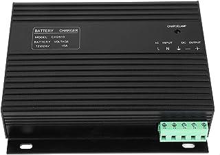 Shexton Cargador de batería del generador, 12V/24V 10A Cargador de batería Inteligente del Grupo electrógeno Diesel del generador