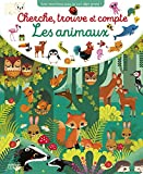 Avec mes livres jeux, je suis déjà grand ! : Cherche, trouve et compte: Les animaux - Dès 3 ans