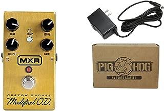 MXR M77 Custom Badass Modified O.D. Overdrive Power Bundle w/ 1 free Items: Item: Pig Hog 9v Power Adapter