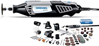 Dremel 4000-6/50-FF High Performance Rotary Tool Kit with Flex Shaft- 6 Attachments & 50 Accessories- Grinder, Sander, Polisher, Engraver- Perfect For Routing, Cutting, Wood Carving, Polishing
