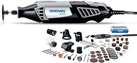 Dremel 4000-6/50-FF High Performance Rotary Tool Kit with Flex Shaft- 6 Attachments &..