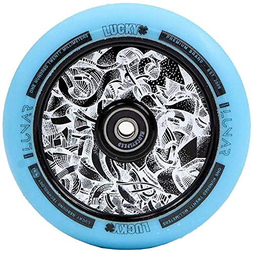 Lucky Lunar - Rueda para patinete Freestyle Axis (120 mm)