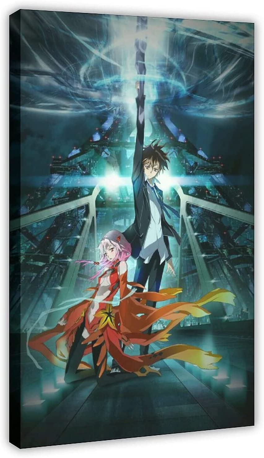 Dedication Guilty Crown Wallpaper20 Quality inspection Canvas Poster Decor Sports Bedroom Land