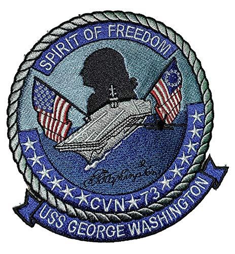 USS George Washington CVN-73 Patch – Sew On