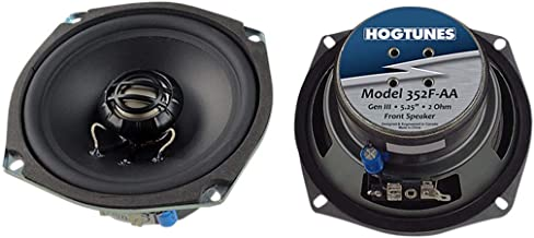 Hogtunes 356F Replacement Front Speaker (Gen3 5.25