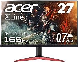 Acer ゲーミングディスプレイ KG271Pbmidpx 27型ワイド TN 非光沢 フルHD 0.7 ms (GTG, Min.) 165Hz HDMI AMD FreeSync ZeroFrame