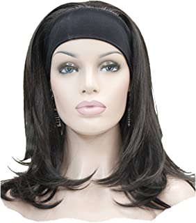 Lydell Long Straight Wave Headband Synthetic Wigs (#4 Dark Brown)