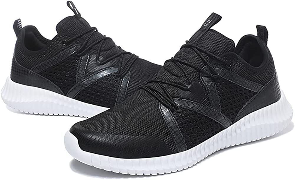 Boys Road Running Breathable New Product item Elastic Stylish MD Sneakers Li Soft