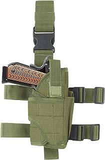 EnriQ Drop Leg Holster Tactical Thigh Airsoft Holster/Firearm Holster/Handgun Holder with Mag Pouch Adjustable Pistol Holster Leg Gun Holster for All 1911 Glock 17/19/20/21/23/26/27 More