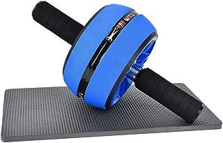 Alomejor AB Wheel Roller Premium Roller Wheel Kit con Alfombrilla para Perder Peso Ejercicio físico Músculos Abdominales Ejercítese en el Gimnasio en casa