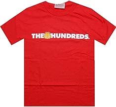The Hundreds x Garfield Bar Logo Tee (red)