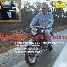 Dvorak: Symphonies Nos. 8 & 9 From the New World ; 5 Slavonic Dances/Smetana: The Moldau; 3 Dances from The Bartered Bride