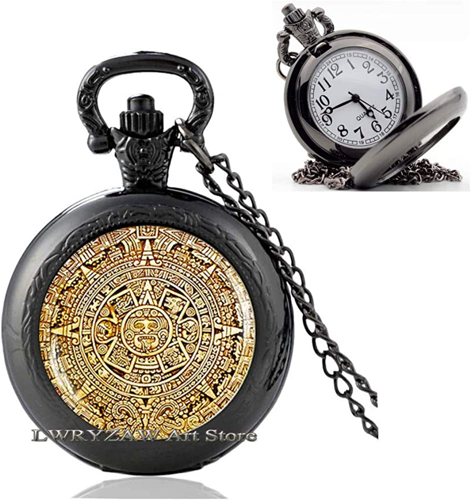 Mayan Calendar Pedant Po Ranking TOP4 Aztec Sales for sale Jewelry