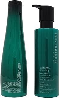 Shu Uemura Ultimate Remedy Shampoo 10 oz & Conditioner 8 oz Duo