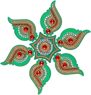 Aditri Creation Rangoli/Home Decor/Diwali/Gift for Home/Interior Handcrafted/Floor Stickers/Wall Stickers/Wall Decoration/...