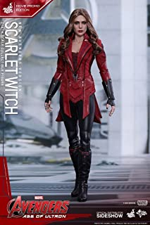Hot Toys Scarlet Witch 1/6 Civil War Movie Promo Edition Avengers Age Of Ultron