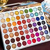 BONNIESTORE 63 Colors Eyeshadow Palette Makeup Set, Matte Shimmer Glitter Natural High Pigmented Pressed Pearl Eye Shadow Powder for Beginners and Pros