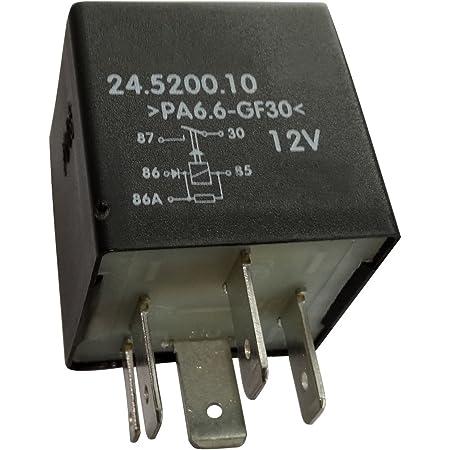 Aerzetix C40255 Kraftstoffpumpenrelais Kompatibel Mit 165906381 Für Auto Auto