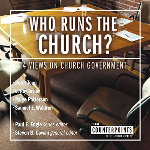 Who Runs the Church? audiobook cover art