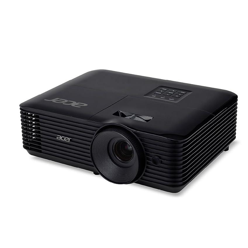 図書館慣習ホーンAcer DLPプロジェクター X138WH (WXGA(1280x800)/3700lm/2.7kg/HDMI/3D対応/2年間保証)