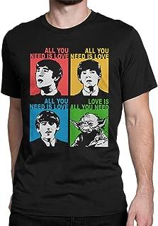 all you need is love shirt yoda