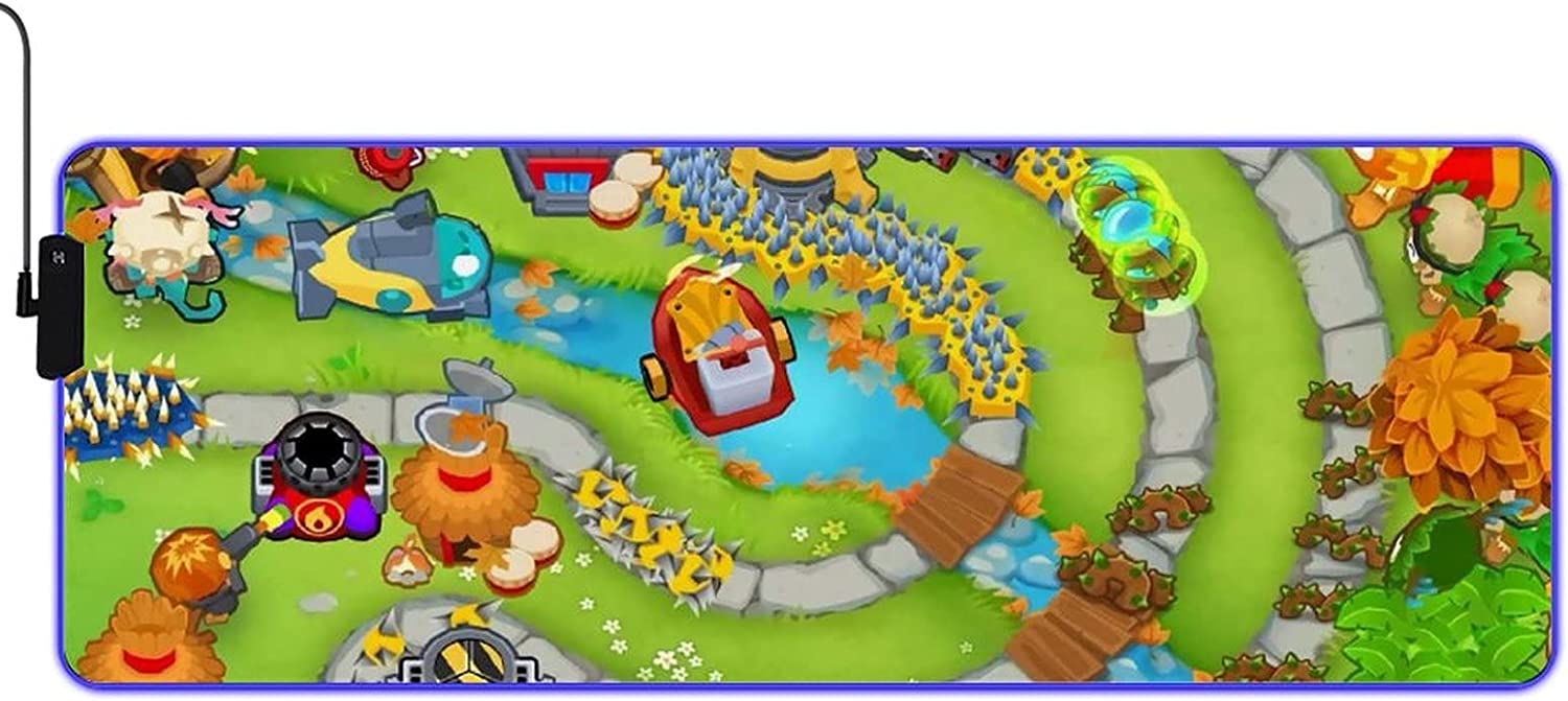 Bloons TD 6 Anime LED Pad Fees free!! Balan High-Performance Mouse Ranking TOP7