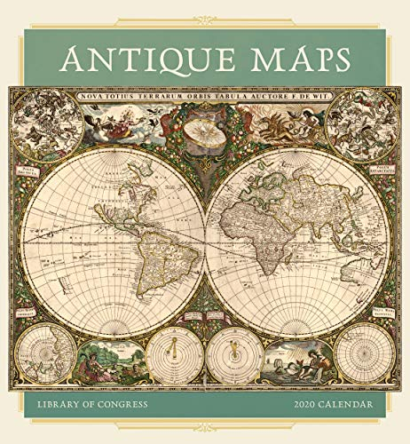 Antique Maps 2020 Wall Calendar