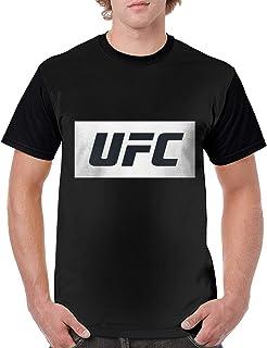 UFC 総合格闘技 メンズ 半袖 カットソー シンプル おしゃれ 3D Tシャツ カジュアル ファッション 丸襟 柔らかい おおきいサイズ 快適 プリント 半袖のTシャツ 吸水速乾 はワンマンデザインのTシャツ