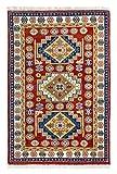 Luxor Living Klassischer Orientteppich aus 100% Wolle in rot - Fußbodenheizung geeignet, Größe:70...