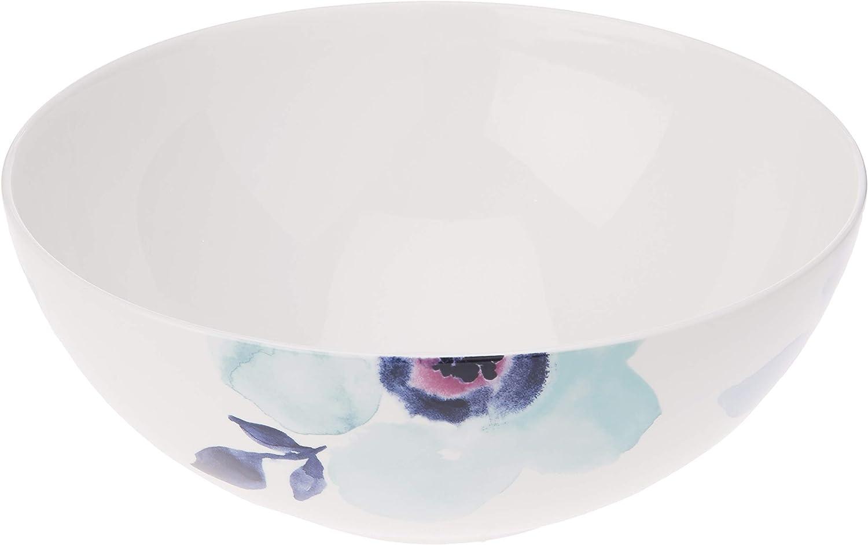 Lenox Indigo Watercolor Floral Serving 2.50 Bowl LB Memphis Mall Blue overseas