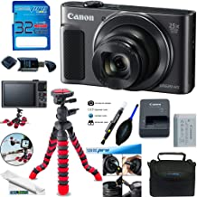 دوربین دیجیتال Canon PowerShot SX620 HS (سیاه) + بسته بندی لوازم جانبی Deal-Expo.